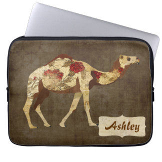 Rose Camel Computer Sleeve