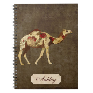 Rose Camel Notebook