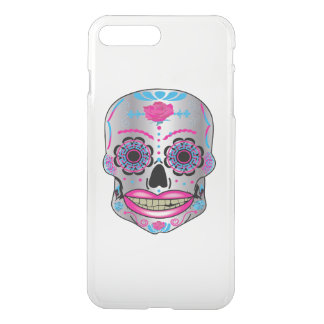 Rose Candy Skull Iphone Case