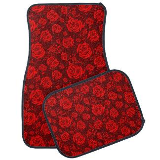 rose car mat