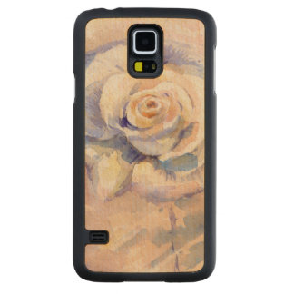 Rose Carved Maple Galaxy S5 Case