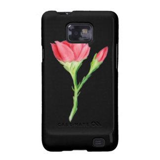 Rose Galaxy S2 Case