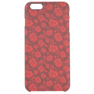 rose clear iPhone 6 plus case