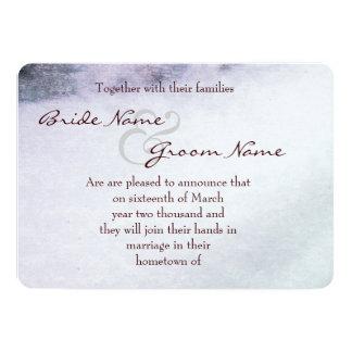 Rose closeup - Save the date 13 Cm X 18 Cm Invitation Card
