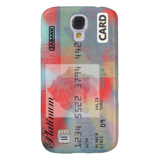 Rose Credit Card Samsung Galaxy S4 Cases