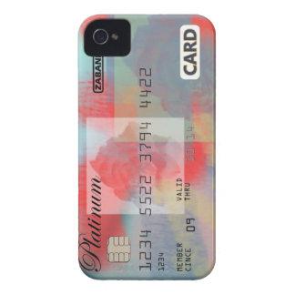 Rose Credit Card iPhone 4 Case-Mate Case