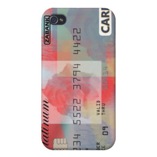 Rose Credit Card iPhone 4 Covers