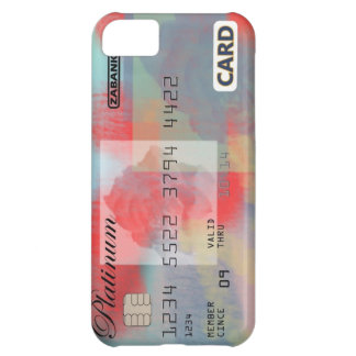 Rose Credit Card iPhone 5C Covers
