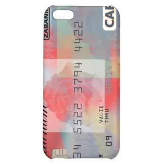 Rose Credit Card Cover For iPhone 5C