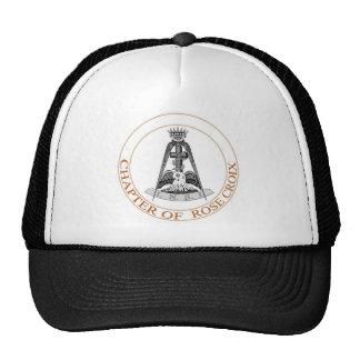 Rose Croix Scottish Rite Symbol Trucker Hat