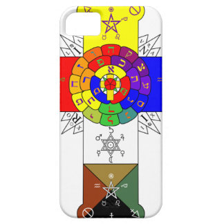 Rose Cross Lamen iPhone Case Barely There iPhone 5 Case