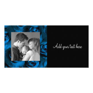 Rose Customized Photo Card