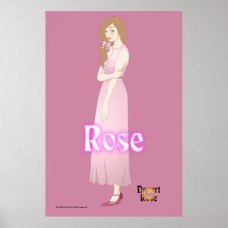 Rose, Dawn Version, Poster