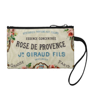 Rose de Provance a French Perfume Change Purse