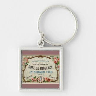 Rose de Provance a French Perfume Key Chains