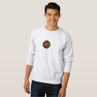Rose Design Men's Sweatshirt