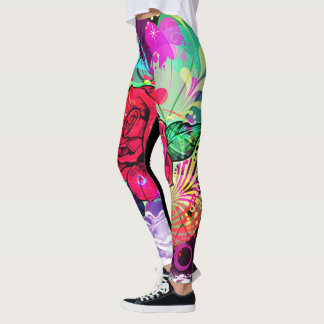 ROSE DESIGNER LEGGINGS