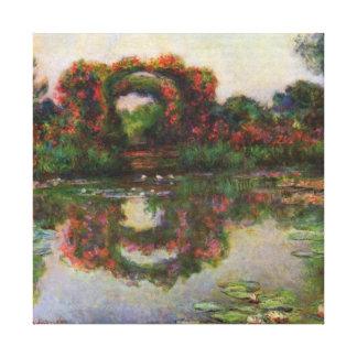 Rose Elbows Monet Fine Art Canvas Prints