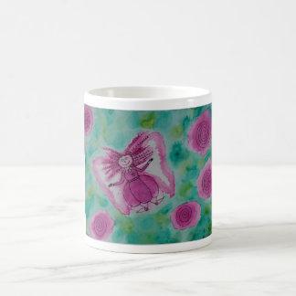 Rose Fairy Basic White Mug