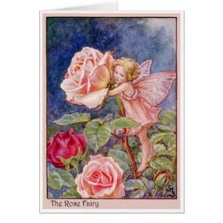 Rose Fairy Greeting Cards