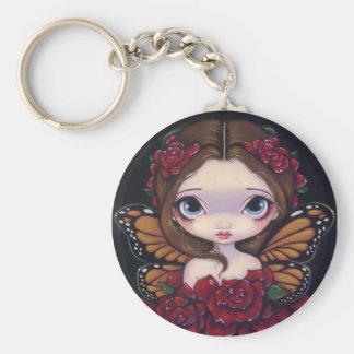 Rose Fairy Keychain