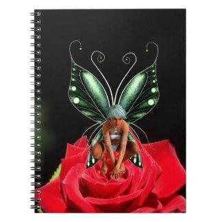 Rose fairy notebook