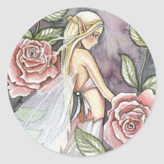 Rose Fairy Stickers by Molly Harrison