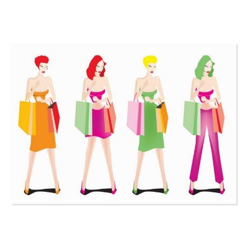 Rose fashion llc business card templates
