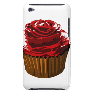 Rose floral design cupcake ipod touch case