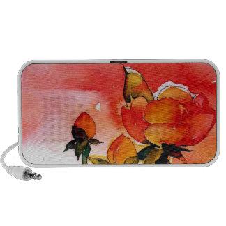 rose floral speaker