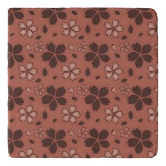 Rose Floral Trivet