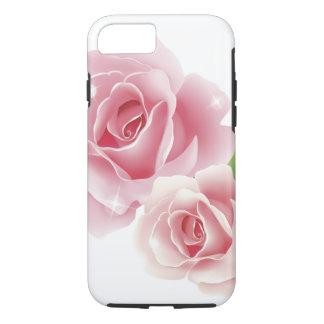 Rose Flower Cute Girly Retro Fine Art iPhone 7 Case