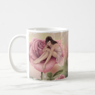 Rose Flower Fairy Mug