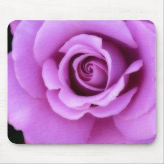 Rose Flower Lavender Purple Pink pretty floral Mouse Mat