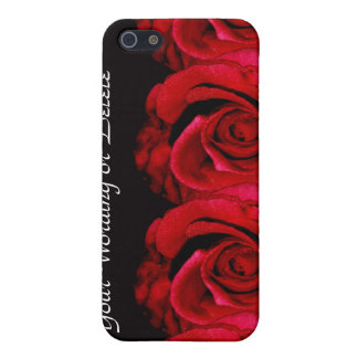 Rose flower red iPhone 5/5S cases