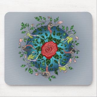 Rose Flower Sprites Mouse Pad
