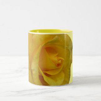 Rose Flowers Mug Coffee Cup Yellow Roses Cup