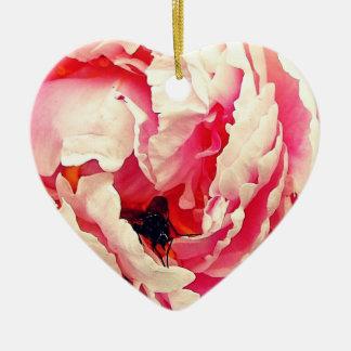 Rose Fly Colour Design Christmas Ornament