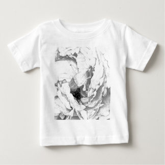 Rose Fly Sketch Baby T-Shirt
