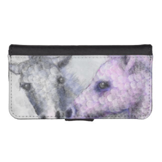 rose foals phone wallet case