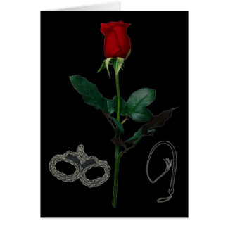 ROSE FOR A DOMME CARD