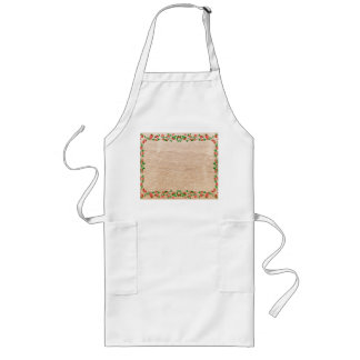 Rose framework long apron