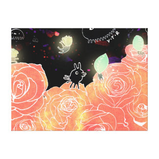 Rose garden 2014 canvas print