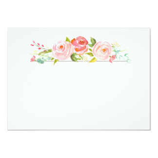 Floral Blank Invitations Amp Announcements Zazzle Co Uk
