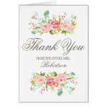 Rose Garden | Bridal Shower Thank You Note Card