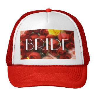 Rose Garden Bride Cap [1A] Mesh Hat