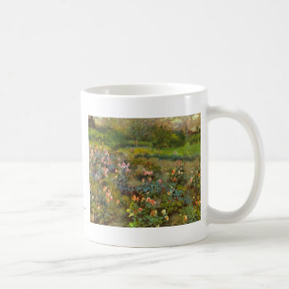 Rose Garden by Renoir beautiful impressionist art Classic White Coffee Mug