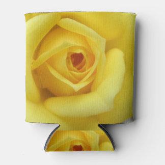 Rose Garden Flower Mini Yellow Can Cooler