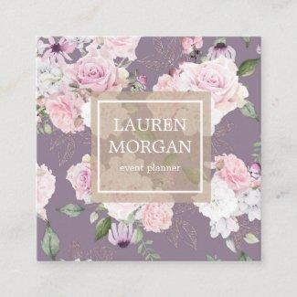 Rose Garden Mauve | Business Card