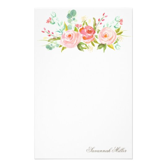 Rose Garden | Personalised Stationery